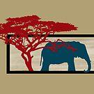 Elephant by Ednathum