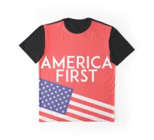 America First Graphic T-Shirt