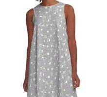 Sheep A-Line Dress