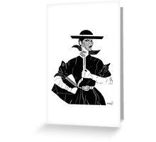 1921 Vogue Greeting Card