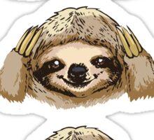 No Evil Sloth  Sticker