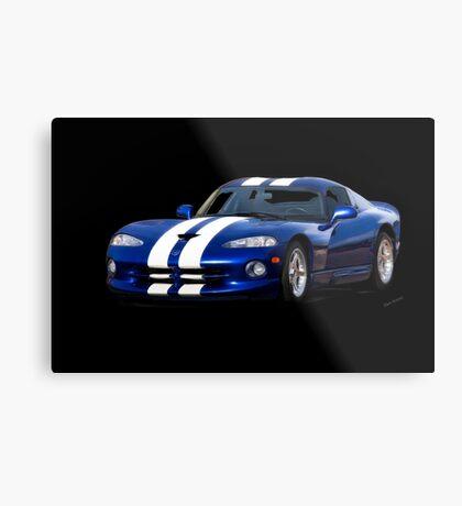 1995 Dodge Viper R/T Coupe I Metal Print