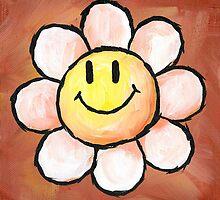 Yoshi's Island Flower by Katie Clark