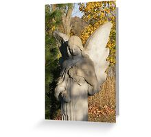Autumn Angel Greeting Card