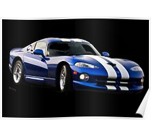 1995 Dodge Viper R/T Coupe III Poster