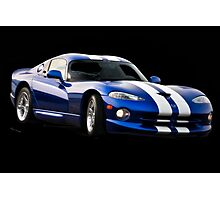 1995 Dodge Viper R/T Coupe III Photographic Print
