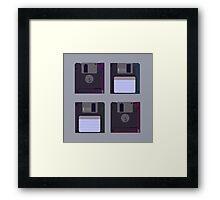 Floppies (Light) Framed Print