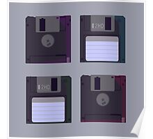 Floppies (Light) Poster