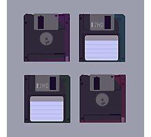 Floppies (Light) Photographic Print