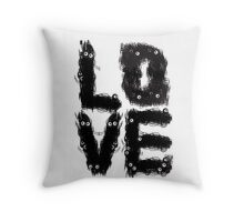 NICE REAL LOVE Throw Pillow