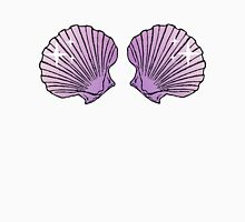 Mermaid Shells Lilac Sparkles Womens Fitted T-Shirt