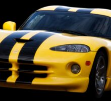 2001 Dodge Viper 'Methanol Injected' Coupe Sticker