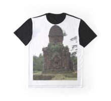 Ancient Temples in Vietnam Graphic T-Shirt