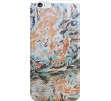 Blue tyger iPhone Case/Skin