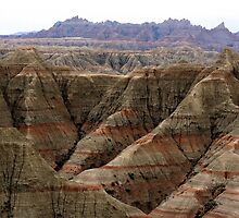Badlands, South Dakota  by Graeme  Hyde