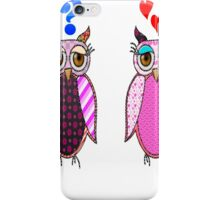 Owls love or what? iPhone Case/Skin