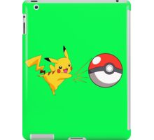Pikachu - Pokeball iPad Case/Skin