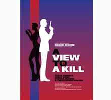 A View to a Kill - Movie Poster Unisex T-Shirt