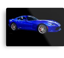 201X Dodge Viper STS Coupe Metal Print