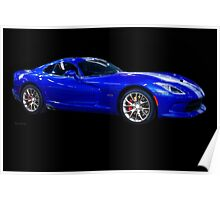 201X Dodge Viper STS Coupe Poster
