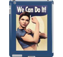We Can Do It! iPad Case/Skin