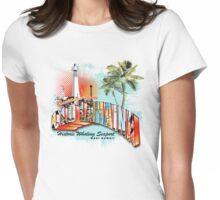 lahaina hawaii Womens Fitted T-Shirt
