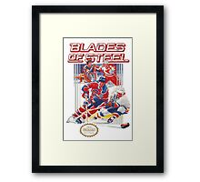 NES Blades of Steel  Framed Print