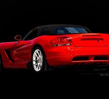 Dodge Viper 'Red Tail' Roadster by DaveKoontz