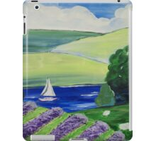 Lavender of the Lakes iPad Case/Skin