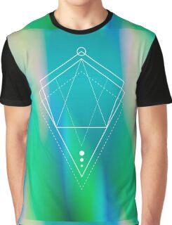 Hologram geometry Graphic T-Shirt