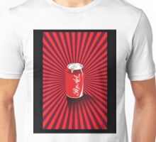 Pop Art Pop Can with a twist Unisex T-Shirt