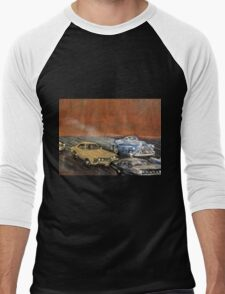 SMOKING BUICK Men's Baseball ¾ T-Shirt