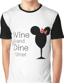 Food and Wine Festival Time Graphic T-Shirt