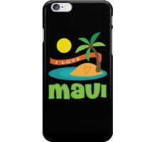 Maui Hawaii Shirt Hawaiian Travel iPhone Case/Skin
