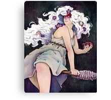 Witch Holda Canvas Print