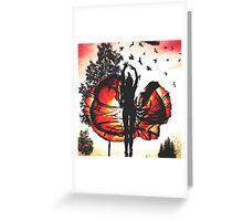 Sunset Ballerina  Greeting Card