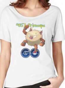 057 Primeape GO! Women's Relaxed Fit T-Shirt