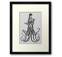 Lady Catherine Thulhu  Framed Print