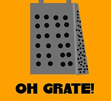 Oh, Grate by Uncle McPaint
