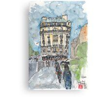 Paris - 5th Arrondissement  Canvas Print