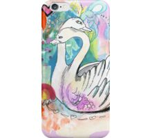 Swan Hug iPhone Case/Skin