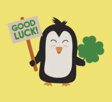 Good Luck Penguin One Piece - Short Sleeve