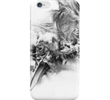 senescence 10 - charcoal drawing iPhone Case/Skin
