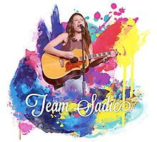 Team Sadie colour splash Photographic Print