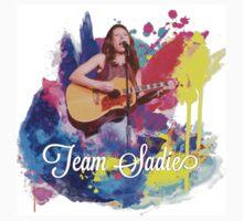 Team Sadie colour splash Kids Tee
