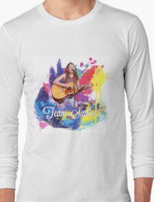 Team Sadie colour splash Long Sleeve T-Shirt