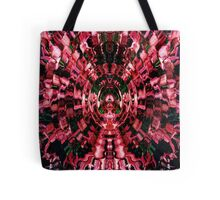 Pink/Red Explosion  Tote Bag