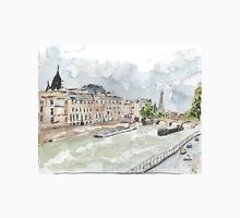 Paris Seine with Eiffel Tower Unisex T-Shirt