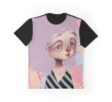 Cotton Candy Graphic T-Shirt