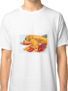 Red and yellow chillies Classic T-Shirt
